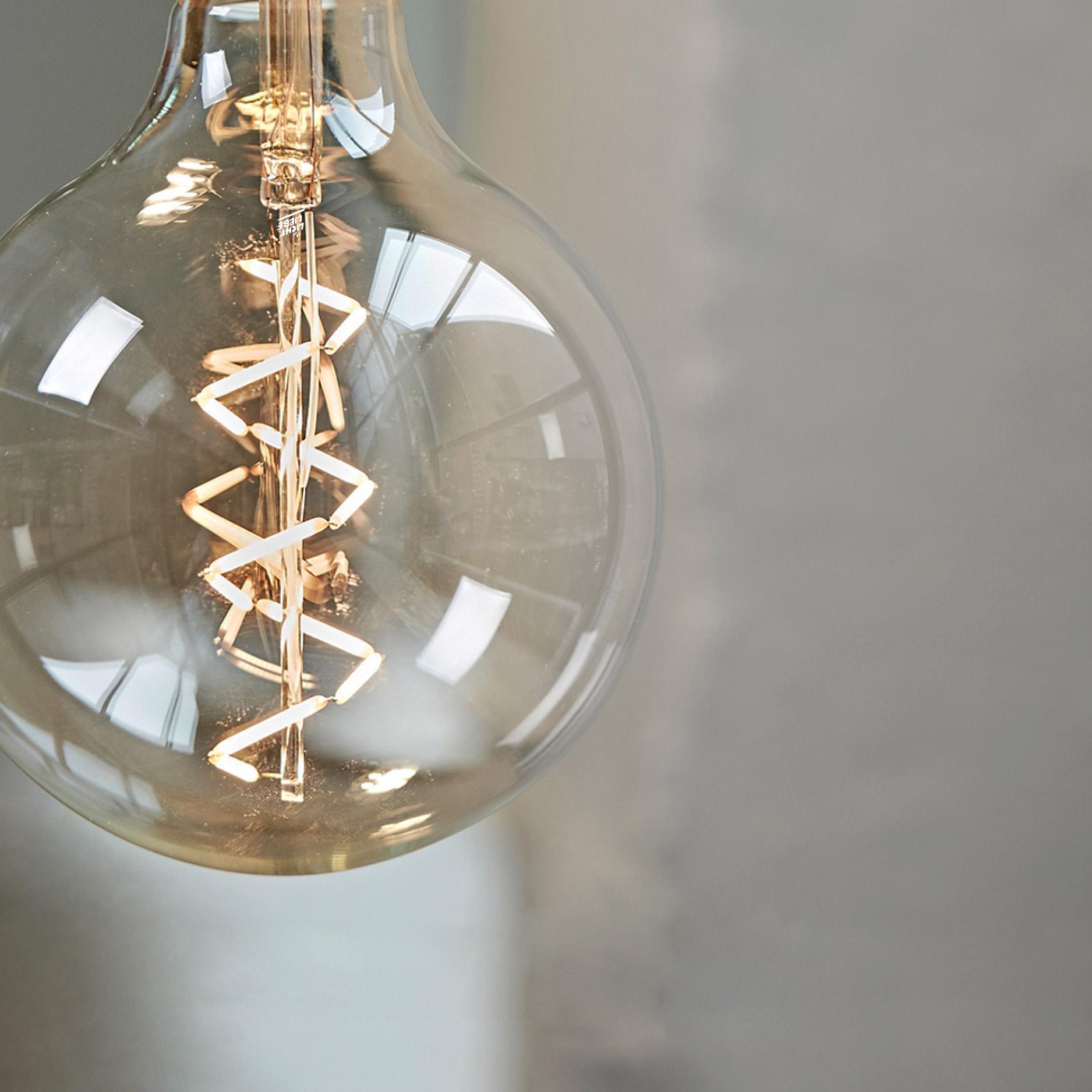 Edison Spiral LED-Leuchtmittel